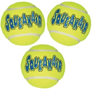 3 BALLES DE TENNIS KONG SQUEAKAIR MEDIUM