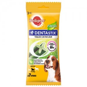 DENTAFRESH CHIEN MOYEN 7 STICKS