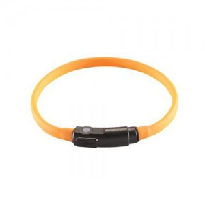 COLLIER LED YUKON CHAT ORANGE