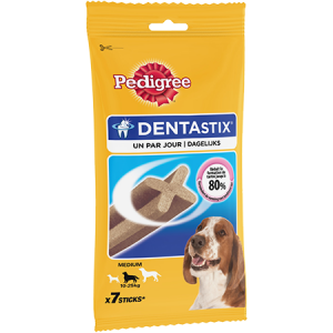 DENTASTIX CHIEN MOY 7 STICKS 180GR