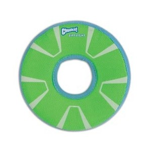 "FRISBEE PHOSPHORESCENT ""CHUCKIT ZIPFLIGHT MAXGLOW"" SMALL"