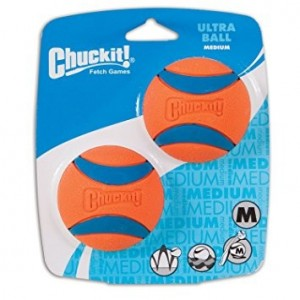 CHUCKIT ULTRA BALLE MEDIUM (X2)