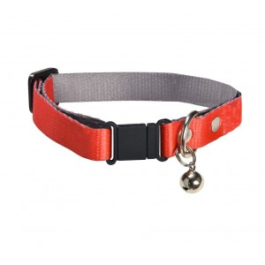 COLLIER CHAT SPOTTED ROUGE