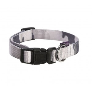 COLLIER CAMOUFLAGE GRIS