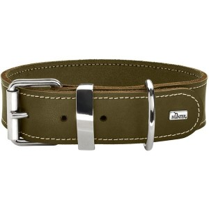 COLLIER AALBORG SPECIAL GRAND CHIEN OLIVE