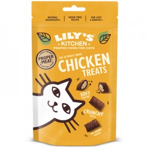 FRIANDISES POUR CHAT LILYS KITCHEN POULET