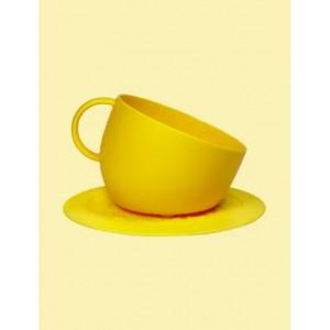 CUP BOWL+SET JAUNE 2500ML