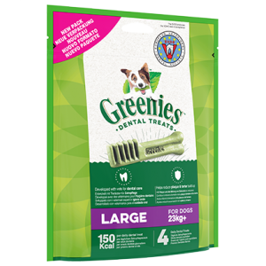 GREENIES LARGE 4PCES
