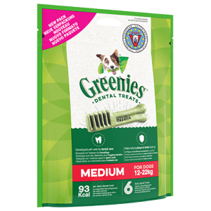 GREENIES MEDIUM 6PCES