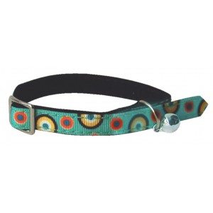 COLLIER CHAT PSYCHE TURQUOISE